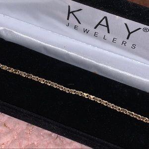 10K Gold Hearts Bracelet 💗